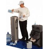 Санитарная обработка напольного кулера