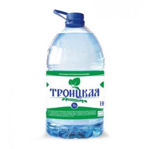 Вода питьевая Троицкая, 5л.